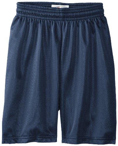 Soffe  boys 8 Inch Mini Mesh Shorts, Navy, X-Large