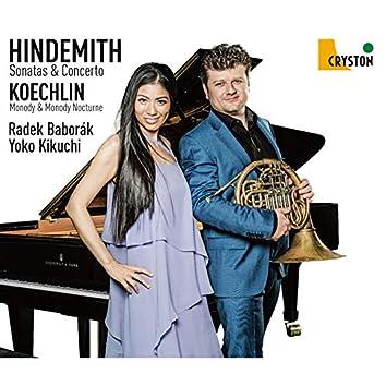 Hindemith: Horn Sonatas & Concerto