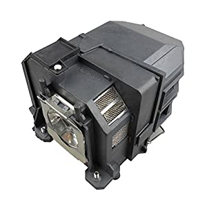 Supermait EP80 A+ Quality Replacement Projector Lamp with Housing, Compatible with Elplp80, Fit for EB-585WI / EB-585W / EB-580 / EB-595WI / EB-1420WI / EB-1430WI / BrightLink 585Wi BrightLink 595Wi