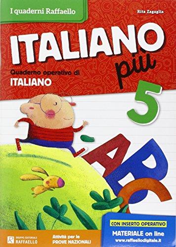 Italiano più. Per la Scuola elementare: 5