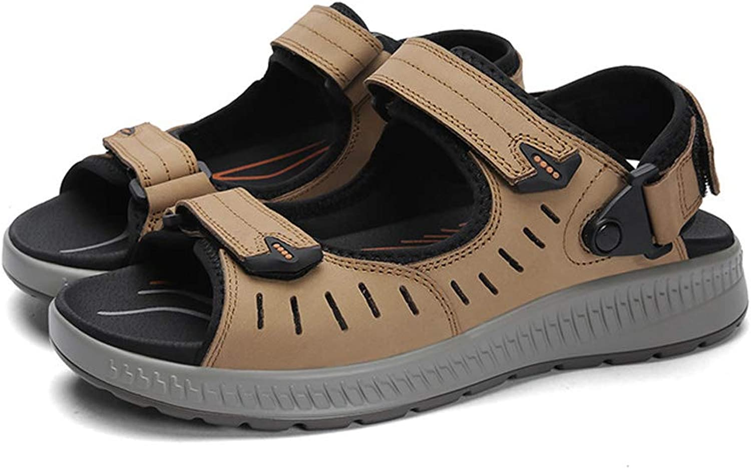 Men's Sports Large Size Sandals and Slippers Breathable Casual Platform shoes Non-Slip Outdoor Sandals