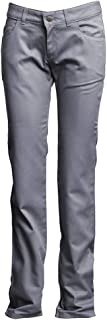 (2, L-pfracgy, Gray) - Lapco FR L-PFRACGY 2RG Ladies FR Advanced Comfort Uniform Pants, 88% Cotton, 12% Nylon, 210ml, 2RG,...