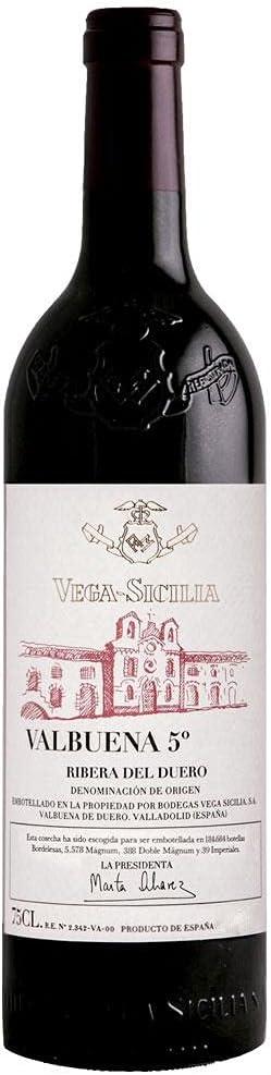 Vega Sicilia Valbuena 5 Cosecha 2016
