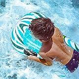 CLISPEED Aufblasbares Bodyboard für Kinder, Schwimmboogie-Boards Pool...