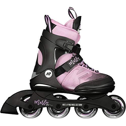 K2 Unisex-Kinder Marlee Pro Pack Skateboardschuhe, Schwarz (Black/Lavendel 001), 32 EU