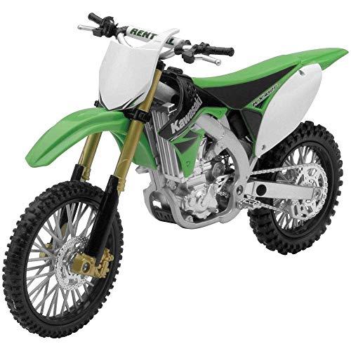 New Ray - 57483 - Véhicule Miniature - Moto Cross - Kawasaki 2012 KXF 450F Echelle 1:12