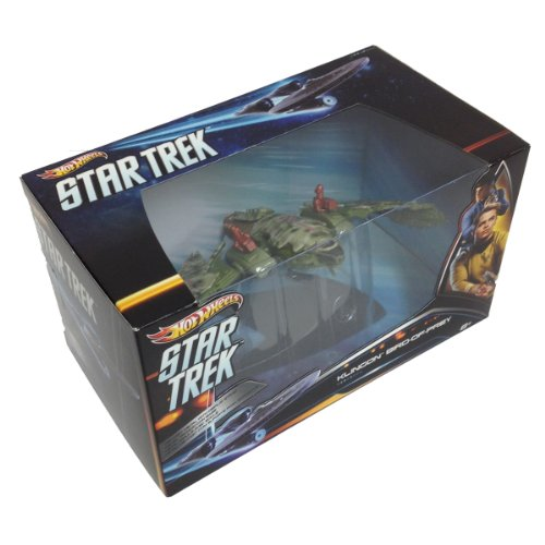 Hot Wheels Collector Star Trek Klingon Bird of Prey Vehicle