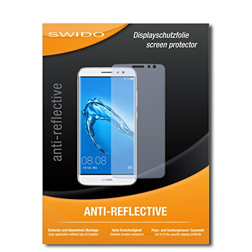SWIDO Schutzfolie für Huawei Nova Plus [2 Stück] Anti-Reflex MATT Entspiegelnd, Hoher Festigkeitgrad, Schutz vor Kratzer/Bildschirmschutz, Bildschirmschutzfolie, Panzerglas-Folie