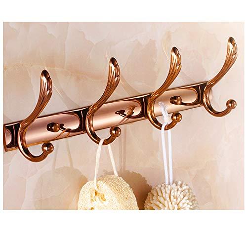 Perchero de Metal Moderno montado en la Pared, Perchero Decorativo, Perchero y toallero para Entrada, Dormitorio, baño, Oficina B