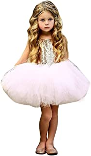 Infant's child baby heart ed party Princess tulle dress clothes