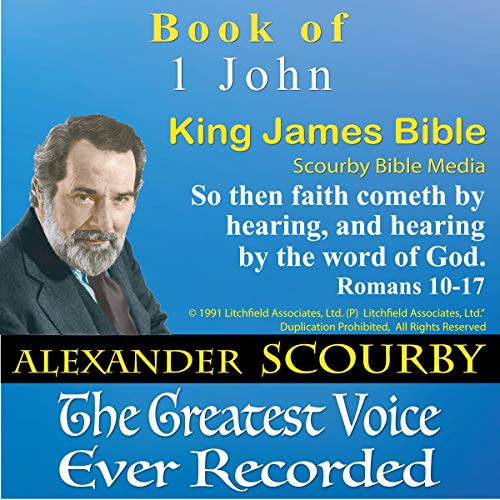 Book of I John, King James Bible cover art
