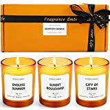 Scent-Hi Scented Candles, Relaxing Aromatherapy Candles, Natural Soy Wax Small Jar Scented Candles, for Body Relaxation, Bath, Yoga, Home Decor, Luxury Candle Gift for Women & Men