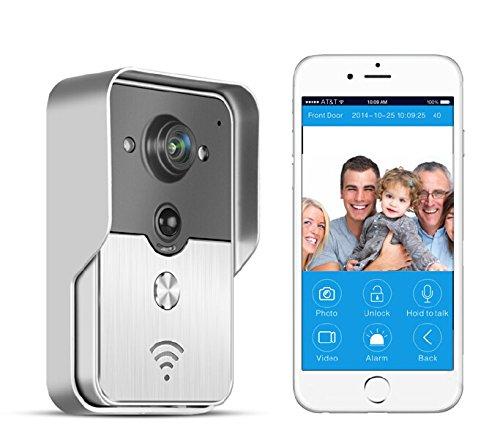 BW WiFi klingeln, campanelli, Wireless IP di Intercom interfone porta camera spia Spioncino, Smart Cellulare Video allarme per Android Mobile IOS iPad