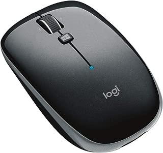 ロジクール ワイヤレスマウス 無線 薄型 マウス M557GR Bluetooth 6ボタン M557 グレー 国内正規品 3年間無償保証