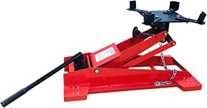 MOTOOS Heavy Duty Adjustable 1/2 Ton 1100 LBS Floor Low Profile Transmission Jack Lift New
