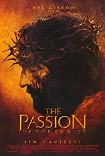 The Passion of the Christ Movie Poster (27 x 40 Inches - 69cm x 102cm) (2004) -(James Caviezel)(Monica Bellucci)(Claudia Gerini)(Maia Morgenstern)(Sergio Rubini)(Toni Bertorelli)
