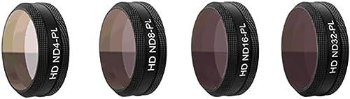 Ansemen Neutraldichte & Polarisator Filter Linse Kit für DJI Mavic Air - HD Neutraldichte ND4-PL+ND8-PL+ND16-PL+ND32-PL Kamera Linse Filter Set Zubeh eil