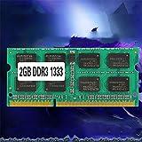 Tenglang Memoria del portátil Ram SO-DIMM PC3-10600 DDR3 1333MHz 204PIN 2GB /4GB/8GB DDR DDR3 PC3-10600 1333MHz 204PIN para el portátil (2G)