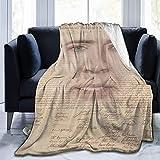 Manta ultra suave micro polar moda personalizada manta creativa (50 x 40 pulgadas)