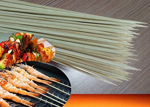 Best Prices! SP Natural BBQ Bamboo Skewers for Kabob, Grill, Appetizer, Fruit, Corn, Cocktail and Mo...