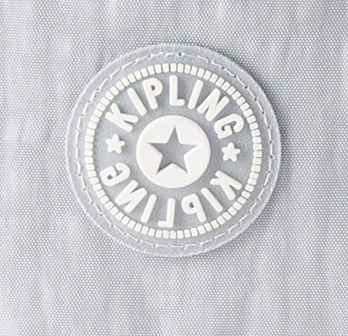 51hCpVgPdIL - Kipling - Art Backpack S, Mochilas Mujer, Gris (Active Grey Bl)