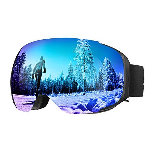 ENKEEO Gafas de Esquí Snowboard VLT