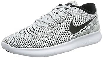Nike Mens Free RN Running Shoe White/Pure Platinum/Black Size 14 M US