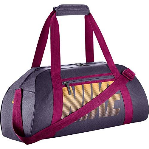 Nike Gym Club Women's Training Duffel Bag (One Size, DARK RAISIN/SPORT FUCHSIA/MELON TINT)