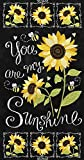 Timeless Treasures Fabrics You are My Sunshine Sunflowers
