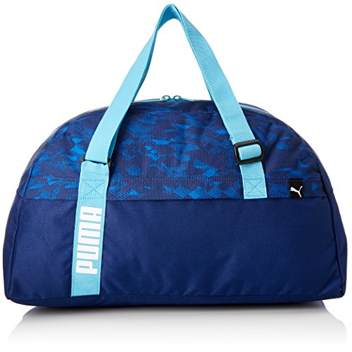 Puma Core Active Sports, Bolsa de Gimnasio Unisex, Unisex Adulto, Core Active Sports, BLU Scuro/Turchese/Grafico