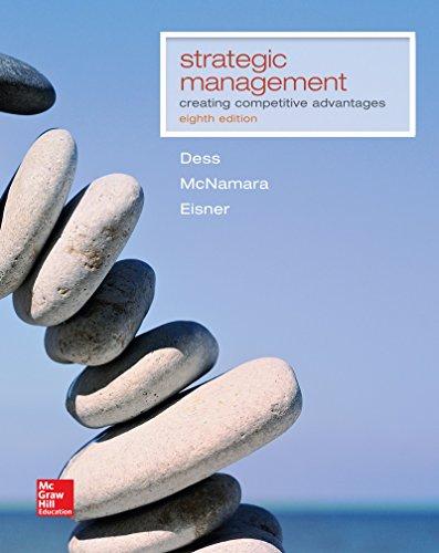 Strategic Management: Creating Competitive Advantages