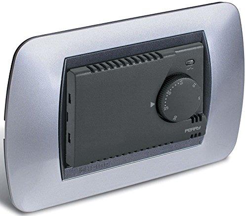Termostato elettronico da incasso con spia Led modello 1TITE301 MC Perry