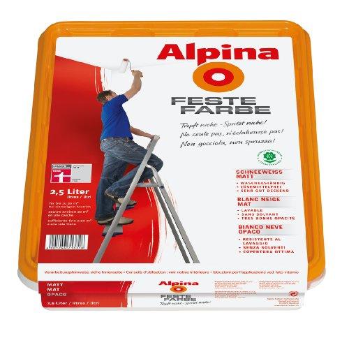 Alpina Feste Farbe Schneeweiß matt 2,5L [Misc.]