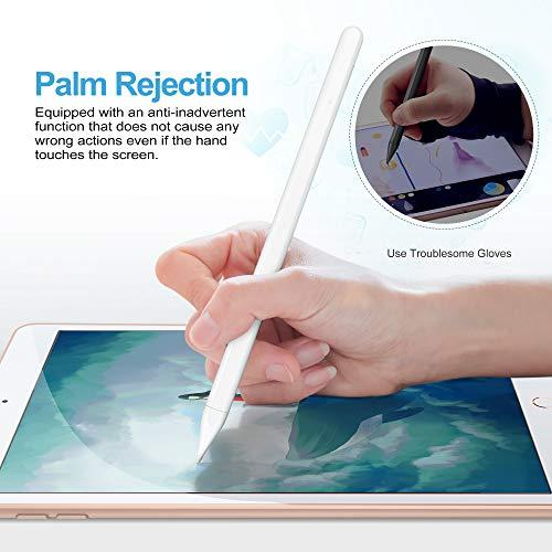 IVSO Stylus Stift für iPad, 1,0 mm Feinspitze Stylus Pen 2.Gen für iPad, Active Pencil mit Palm Rejection & Magnetic Adsorption für (2018-2020) Apple iPad Pro/iPad/iPad Mini/iPad Air…