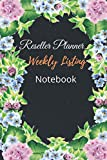 「Reseller Planner Weekly Listing Notebook: Monday-Sunday Daily Weekly Listing Book For Resellers Reselling notebook」の画像