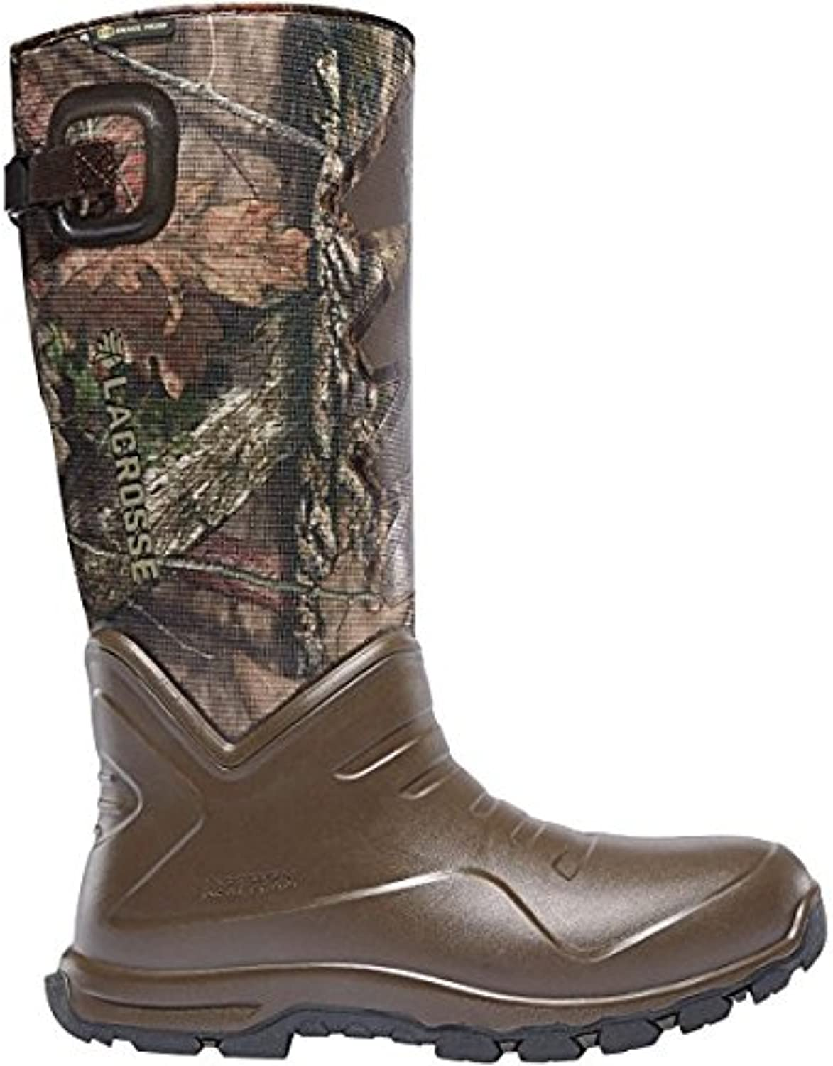 LACROSSE Aerohead Sport Snake Boot 16  Height Mossy Oak BreakUp Country (340227)  Waterproof   Insulated Modern Comfortable Hunting Combat Boot Best for Mud, Snow