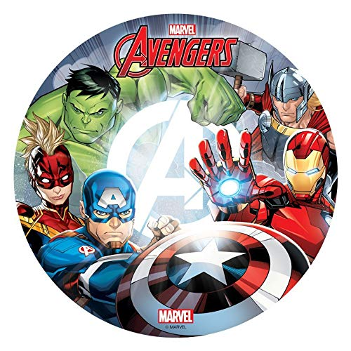 Tortenaufleger Avengers Dekora 114401 / 20 cm Ø