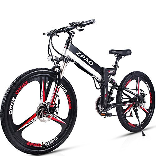 GTYW 26 Pollici Pieghevole Bicicletta Elettrica Mountain Bike Adulto Bici Elettrica Al Litio Adulto Pieghevole Mini Moto Elettrica 90 Km Di Durata Della Batteria