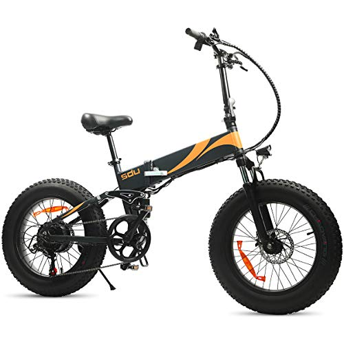 Our #7 Pick is the SDU SDream Folding Full Suspension Ebike for Hills