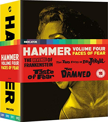 Hammer Films Vol. 4 Faces Of Fear (5 Blu-Ray) [Edizione: Regno Unito] [Italia] [Blu-ray]