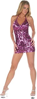 Inc Sexy Party Sequin Paillete Hot Pink Dress