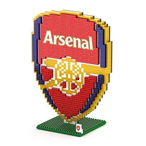 FOCO Arsenal F.C. 3D BRXLZ Crest Building Set