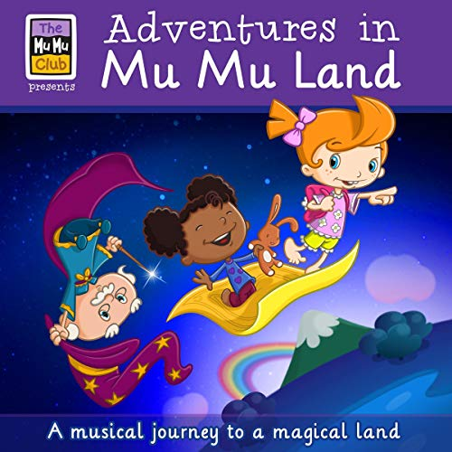 Adventures In Mu Mu Land audiobook cover art