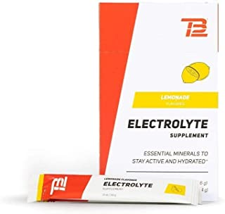 TB12 Electrolyte Powder   Powder Packets for Hydration, 15-Count Stickpacks, Refreshing Drink Mix - Gluten-Free, Dairy-Fre...