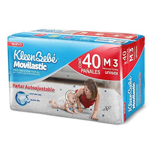 pañal kleenbebe movilastic unisex xj 40 fabricante KleenBebé