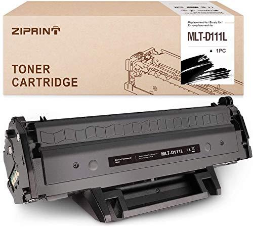 ZIPRINT Tóner XL compatible con Samsung MLT-D111L para Samsung Xpress SL-M2070 M2036 W2026 M2070FW M2020 M2022 (negro)