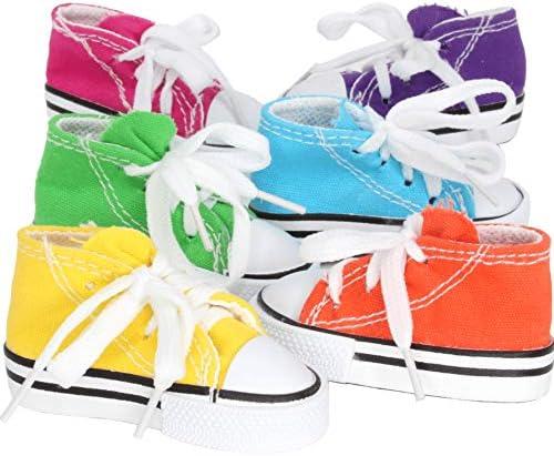 Bonka Bird Toys Sneakers Cotton Colorful Versatile Chew Parrot Budgie Finch Quaker Dove Parrotlet