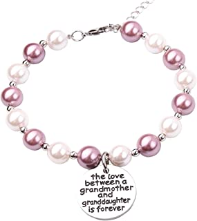 The Love Between a Grandmother and Granddaughter is Forever Birthday Gift