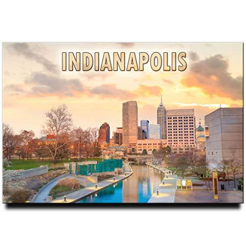 Indianapolis Fridge Magnet Indiana Travel Souvenir Circle City