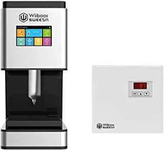 WiibooxSweetin 3D Edible Food Chocolate DIY Printer 60ML for Creative Personalized Baking Desserts Decoration with an Independent Melting Preheater